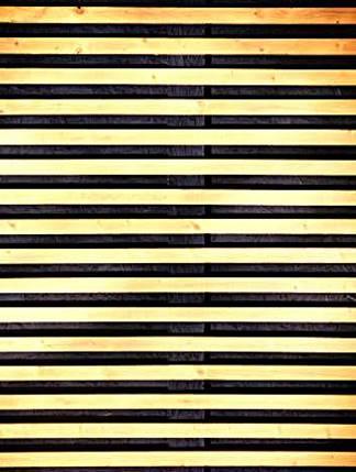 Painel Ripado - Madeira Ripada - Vazado - Horizontal