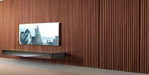 Painel de Madeira Ripado - Painel Ripado para Sala de TV - Sala de Estar