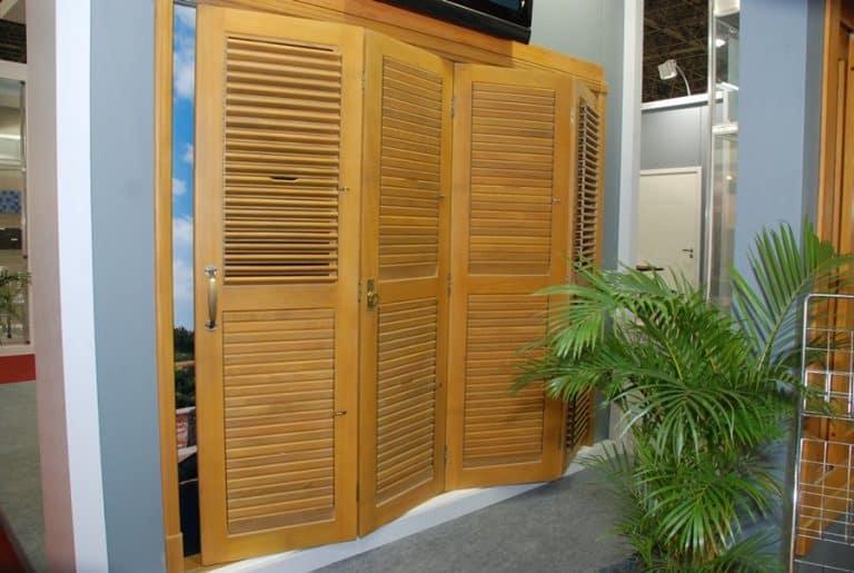 Porta camarão - pantográfica - articulada - sanfonada - Portalmad - Madeira