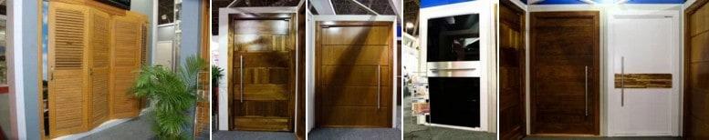 Portas de madeira - Entrada - Portalmad