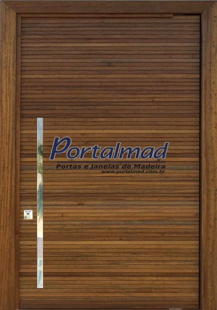 Porta Ripada de Entrada - Madeira - Portalmad